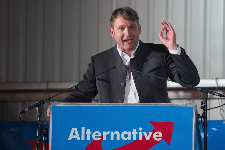 André Poggenburg, Vorsitzender der AfD in Sachsen-Anhalt.