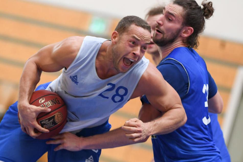 Der fünfmalige Nationalspieler Andrej Mangold spielte zuletzt für die Skyliners Frankfurt.
