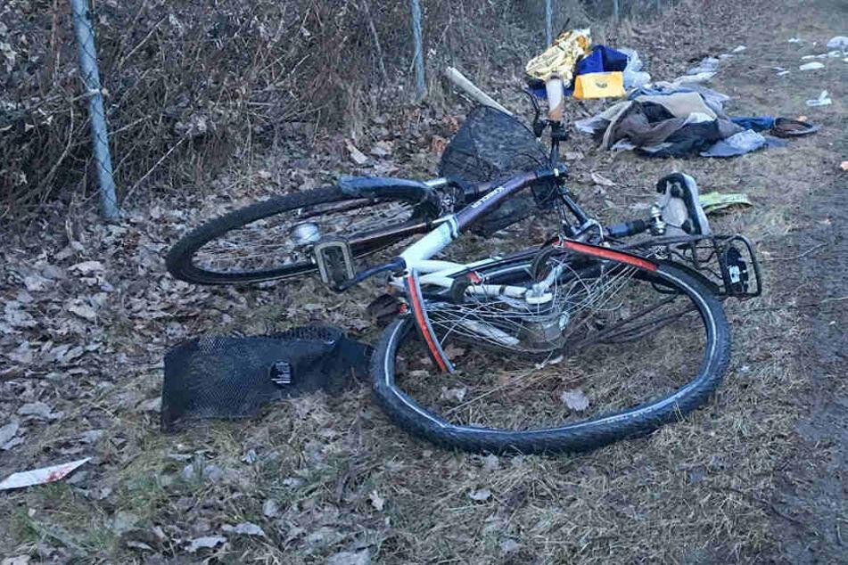 Der Radler musste zunächst reanimiert werden.