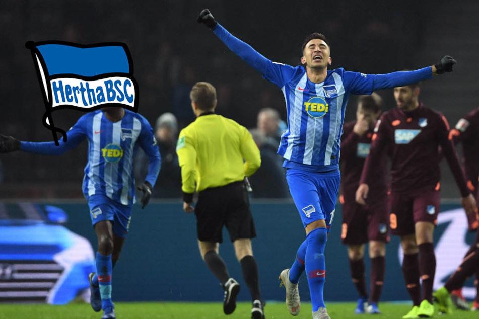 Lazaros Faible für späte Treffer: Traumtor lässt Hertha jubeln