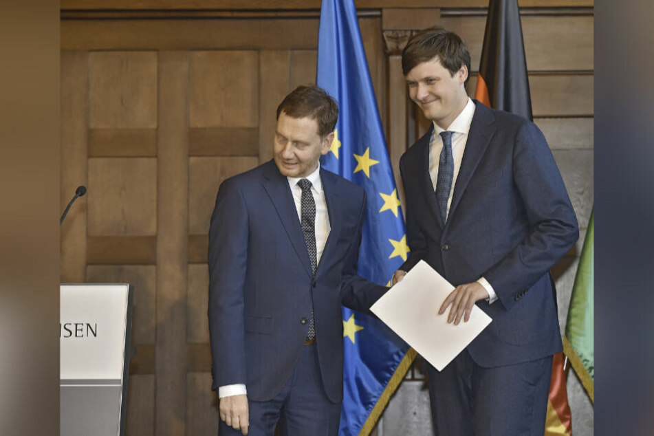 Conrad Clemens (36, CDU) ist als Staatssekretär nun unser Mann in Berlin.