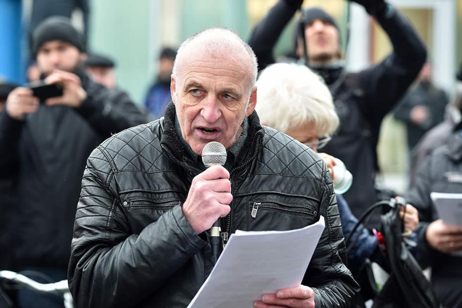 Neonazi Gerhard Ittner (59) hat  wieder Ärger mit der Justiz.