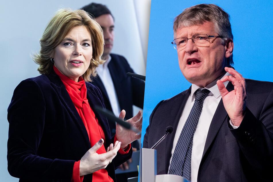 Julia Klöckner (48, CDU) und Jörg Meuthen (59, AfD) sahen ihre Parteien bei den Ausgangslagen in diesem Jahr schon im Nachteil.