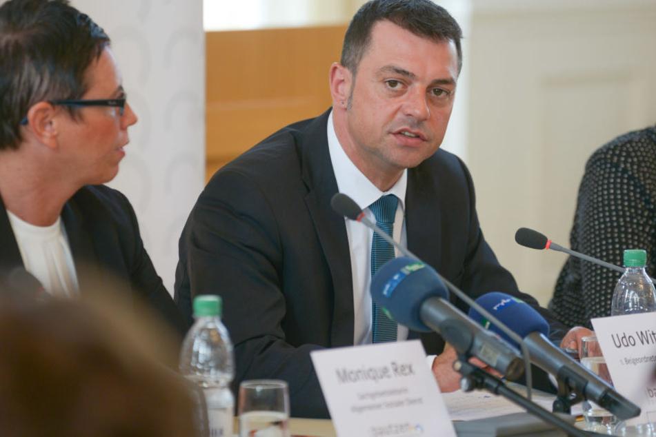 Udo Witschas (45, CDU) hat sich nach der NPD-Affäre selbst angezeigt.