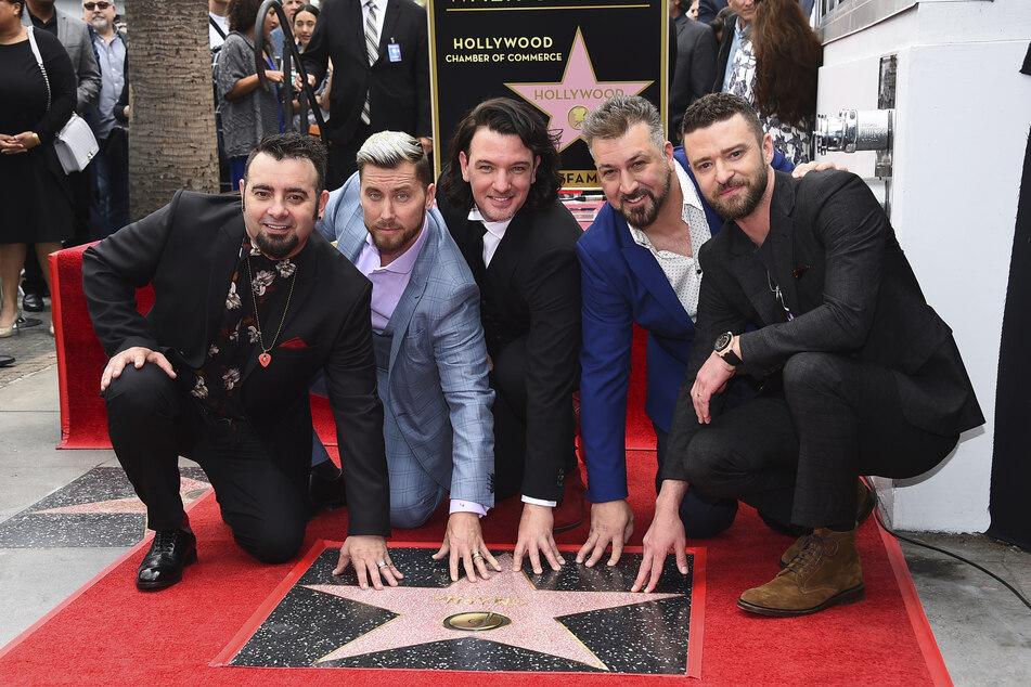 *NSYNC löste sich 2002 auf. 2018 gab's dennoch einen Stern auf dem Hollywood Walk of Fame.