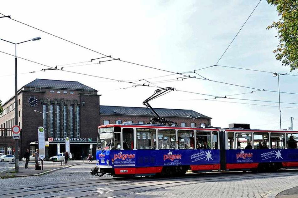 Die Tram-Linie zum Hauptbahnhof soll möglicherweise eingestellt werden.