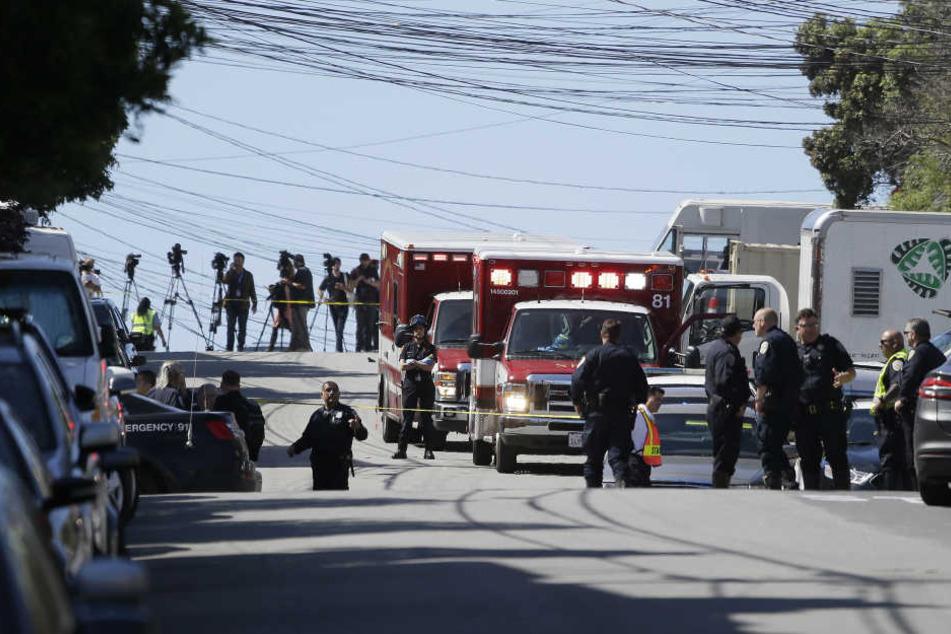 In San Francisco wurden bei einer Schießerei drei Menschen getötet.