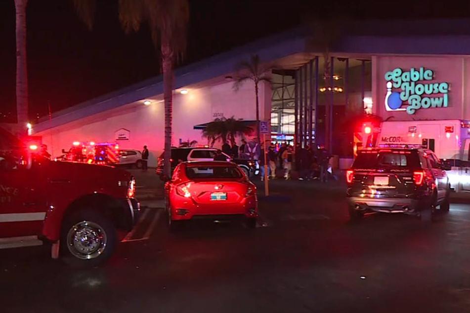 Die Schießerei ereignete sich im Spielhallen-Komplex Gable House Bowl.