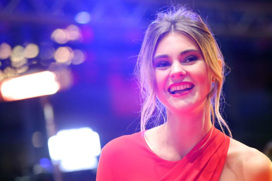 """Stefanie Giesinger (22) wurde 2014 """"Germany's next Topmodel""""."""