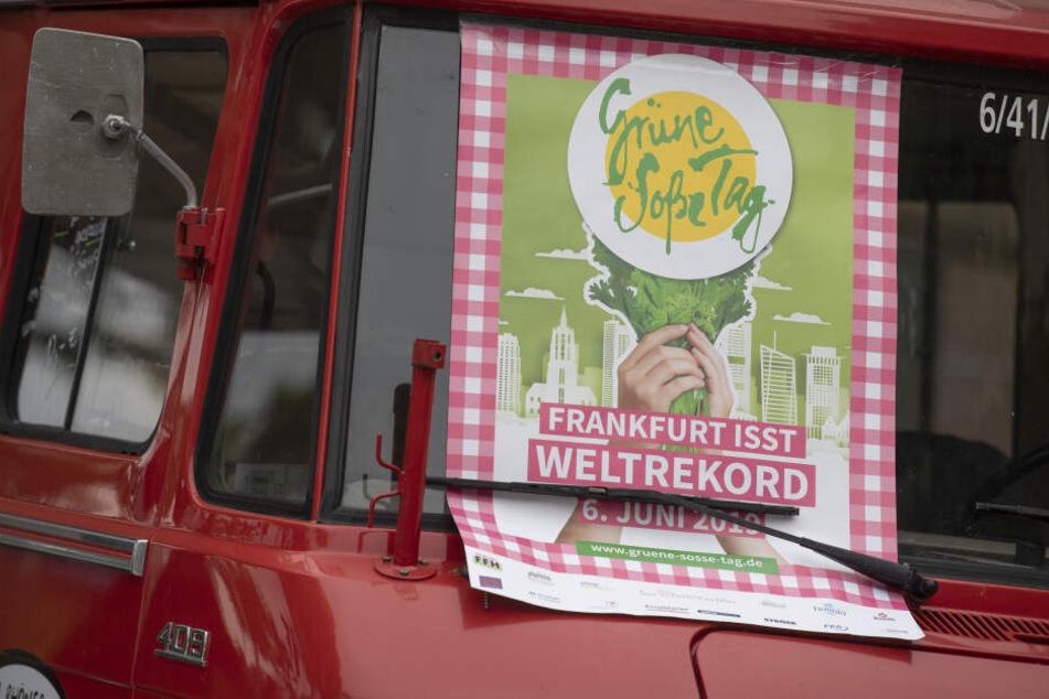 """Am Donnerstag hatte die Stadt Frankfurt den """"Grüne Soße Tag"""" ausgerufen."""