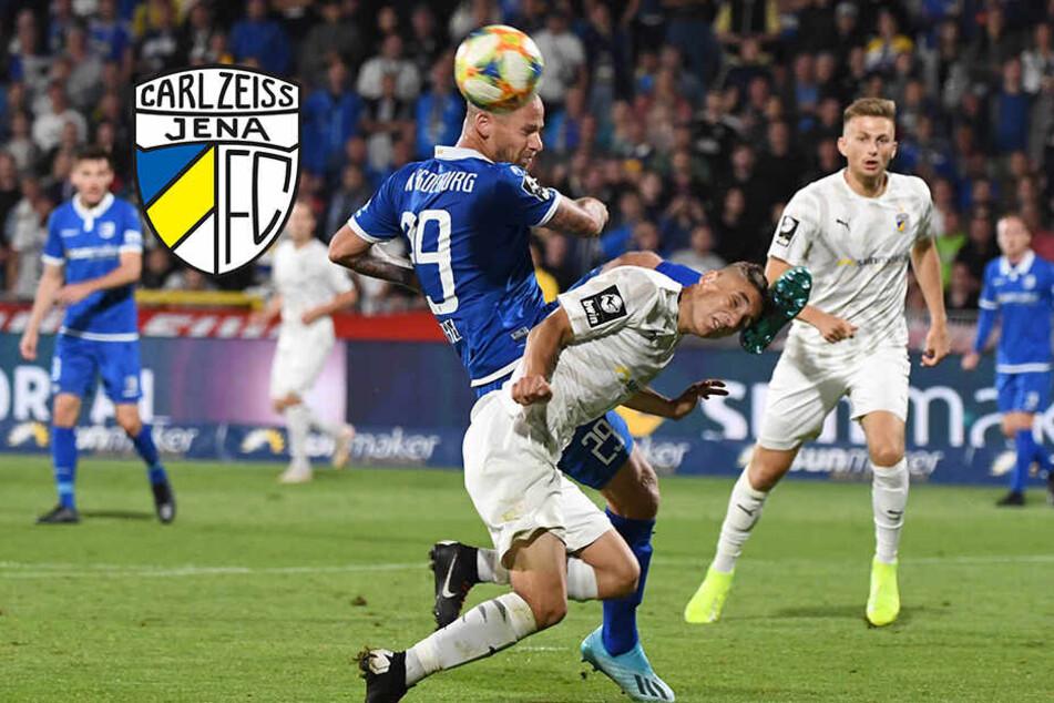 FC Carl Zeiss Jena erkämpft ersten Punkt der Saison