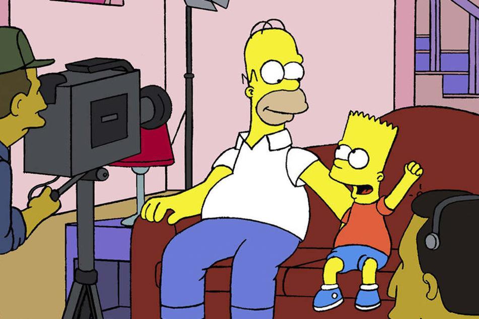 """Habt ihr es entdeckt? Mega-Panne bei """"Die Simpsons"""""""