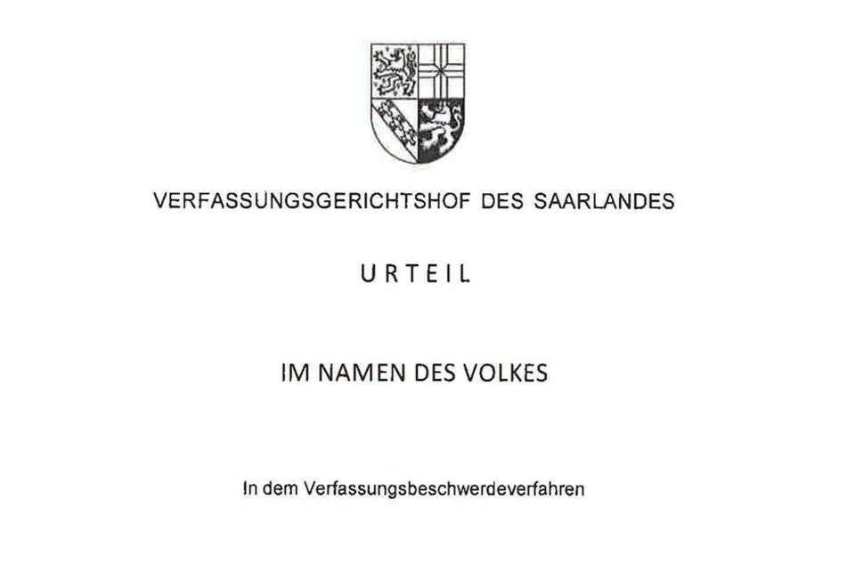 Das Urteil aus dem Verfassungsgerichtshof des Saarlandes sorgt nun auch in Sachsen für Wirbel.