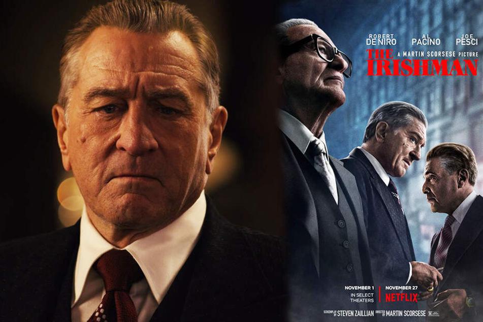 """The Irishman"" begeistert: Al Pacino, Robert De Niro und Joe Pesci brillant!"