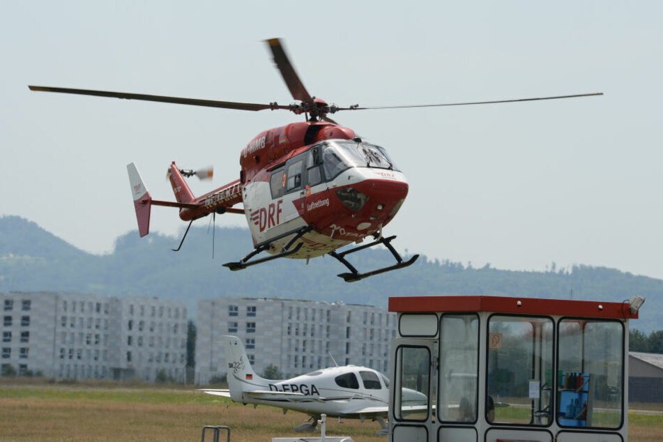 Der schwer verletzte Mann wurde in die Klinik nach Freiburg geflogen. (Symbolbild)