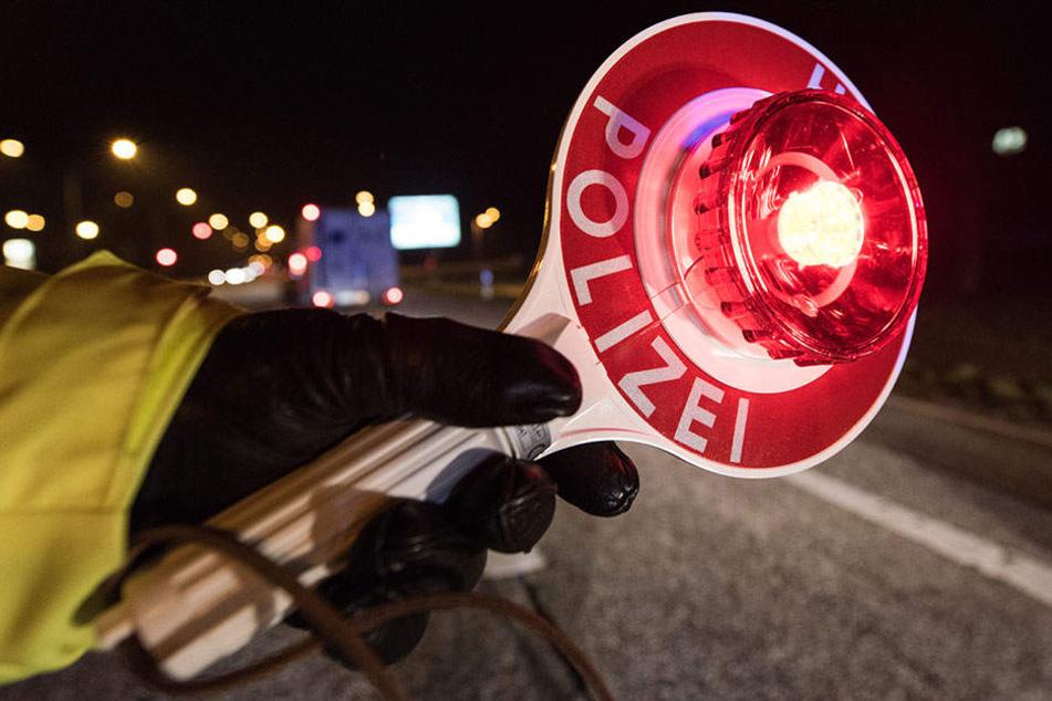 Die Polizei in Brandenburg zog einen betrunkenen und unter Drogen stehenden Mann aus dem Verkehr.