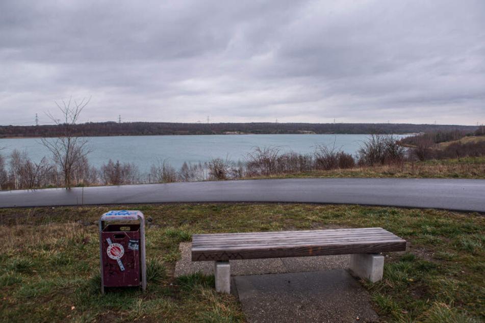Noch herrscht Ruhe am Bockwitzer See.