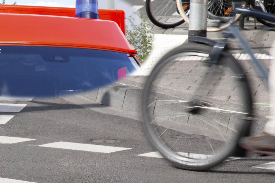 Der Unfall ereignete sich in einem Kreisverkehr nahe der Innenstadt von Babenhausen (Symbolbild).
