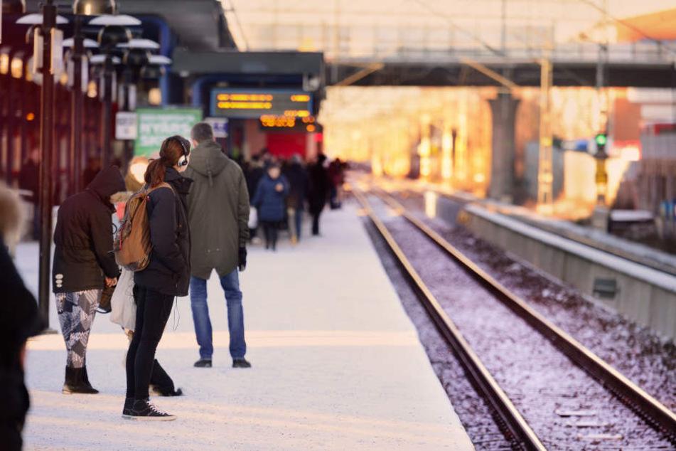 Für etwa zehn Minuten legten die beiden Unbekannten den S-Bahn Verkehr lahm (Symbolfoto).