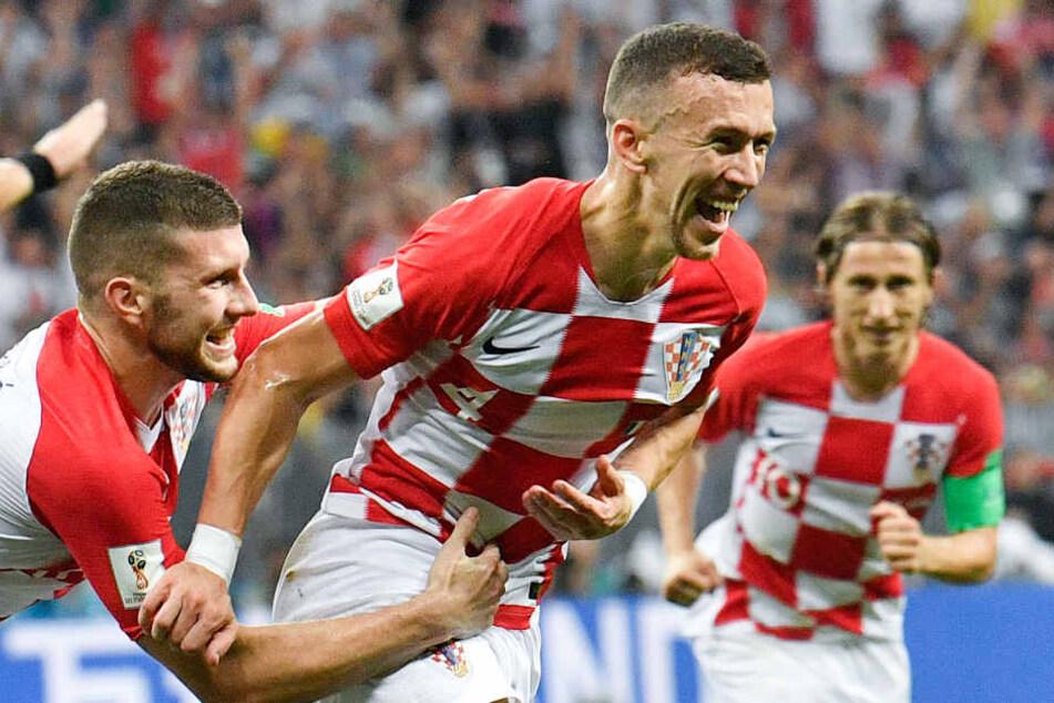 Ivan Perisic (29) zog bei der WM 2018 mit der kroatischen Nationalmannschaft ins Finale ein.