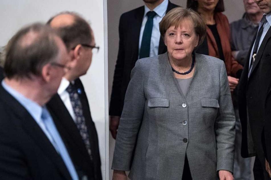 Das Scheitern der Jamaika-Verhandlungen könnte auch den Abgang von Angela Merkel nach sich ziehen.