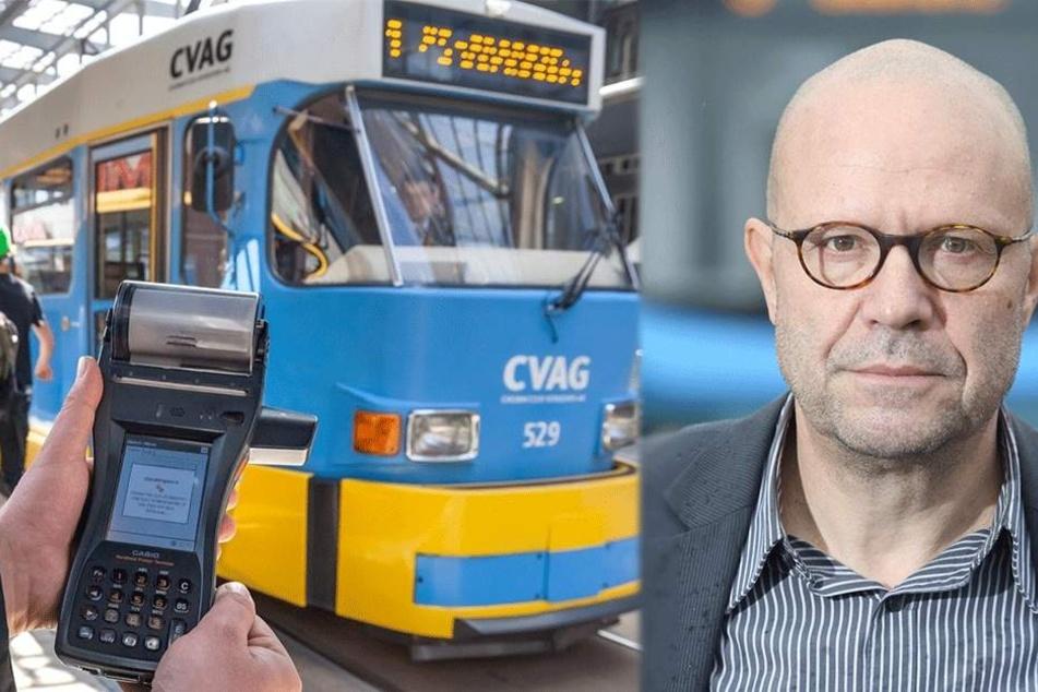 CVAG greift durch: Immer weniger Chemnitzer fahren schwarz