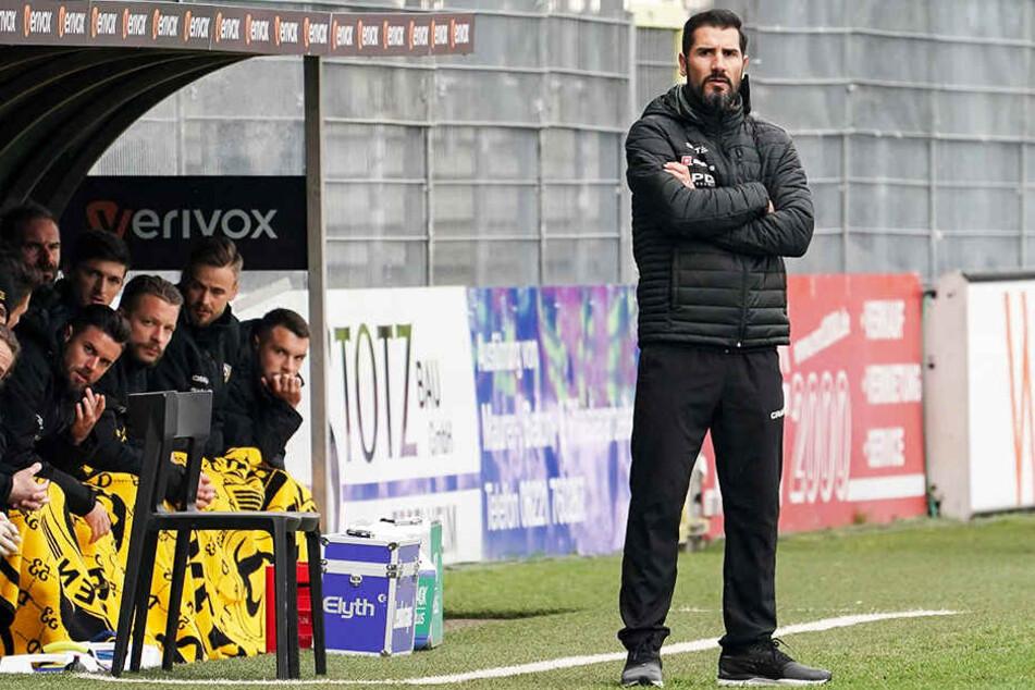 Cristian Fiel war sichtlich enttäuscht vom Auftritt seiner Mannschaft.