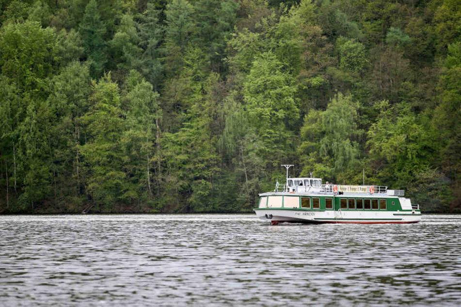 In diesem Jahr startet die Talsperre Kriebstein ohne Schifffahrten in die neue Saison.