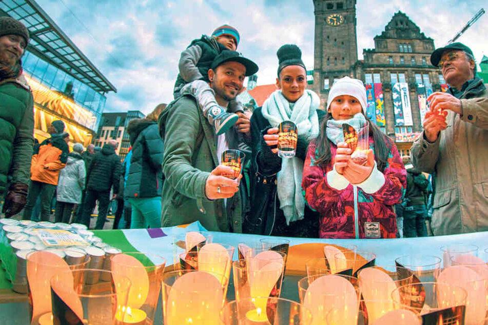 Am 5. März 2018 wird wieder an die Bombardierung von Chemnitz erinnert.