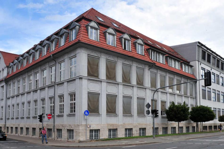 Das Justizzentrum Mühlhausen mit Landgericht und Staatsanwaltschaft.