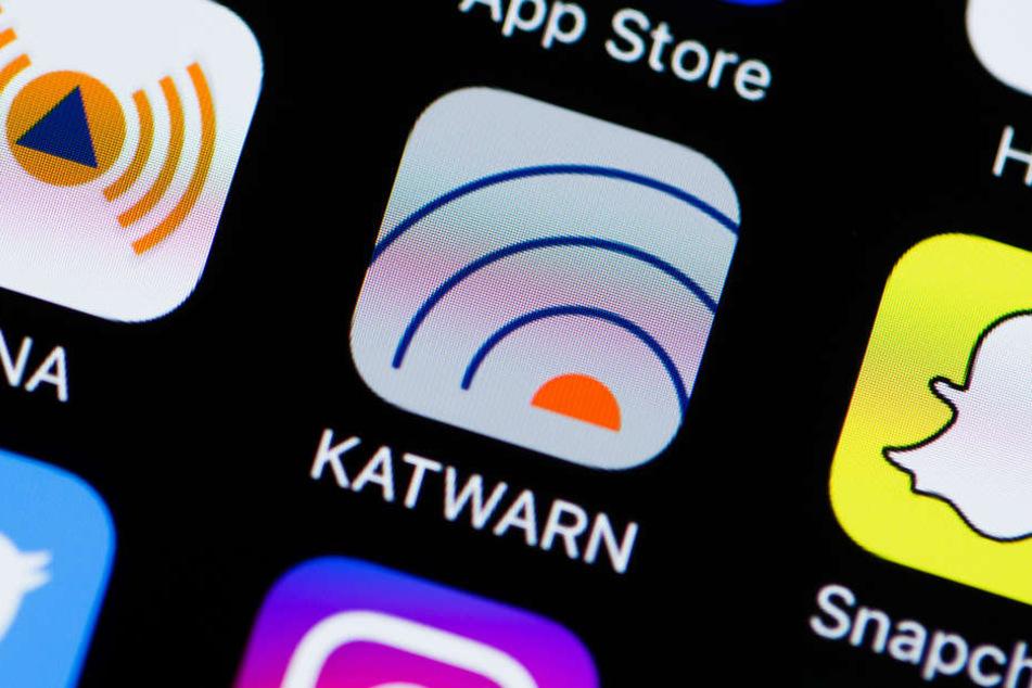 Die App Katwarn soll in Zukunft auch von der Polizei in Hessen genutzt werden.