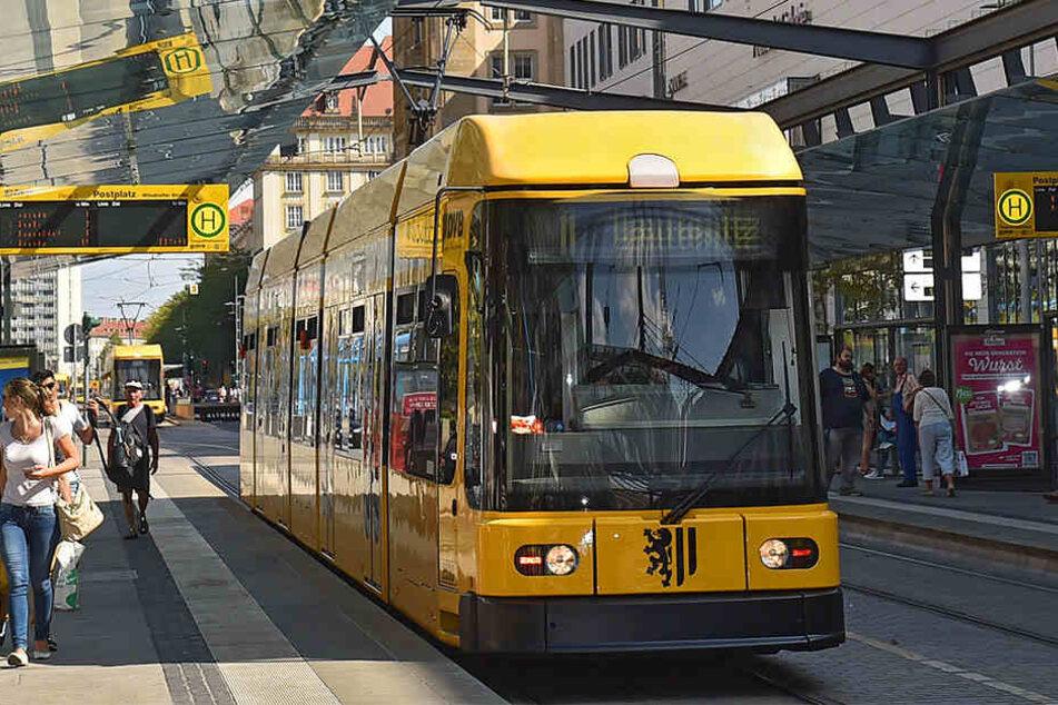 Zugetragen hat sich der Vorfall in einer Straßenbahn der Linie 4. (Symbolbild)
