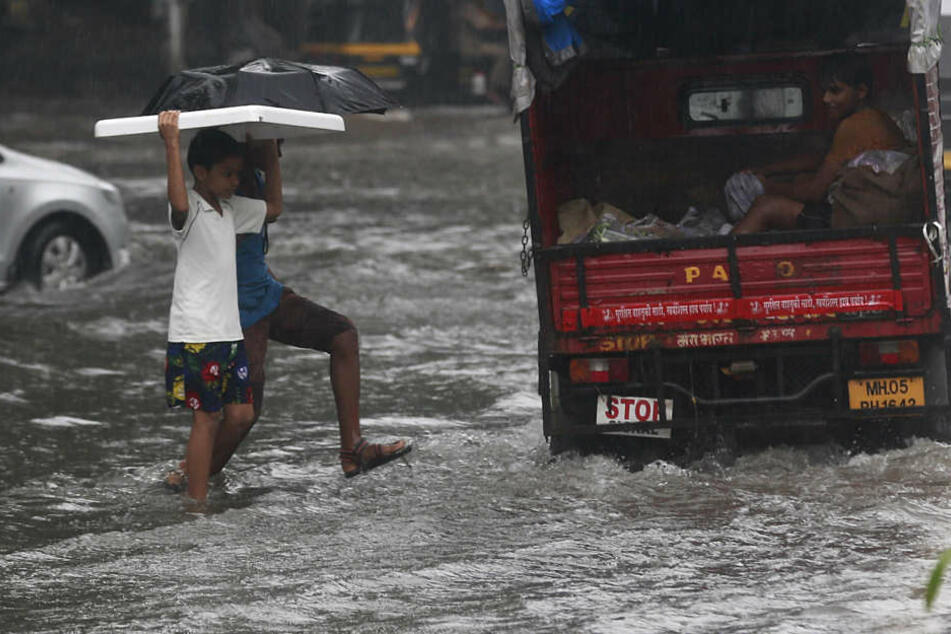 In Indien kam es erneut zu einem schweren Hochwasser.