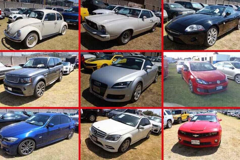 Chevrolet Camaro bis VW-Käfer: Am Sonntag sollen Dutzende Autos versteigert werden.