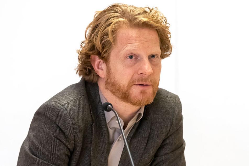 Baubürgergermeister Michael Stötzer (46, Grüne) hält eine von Eltern geforderte Ampel bislang für nicht nötig.