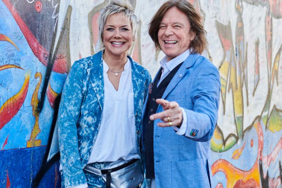 Gemeinsames Konzert: Inka Bause und Jürgen Drews feiern 30 Jahre Mauerfall