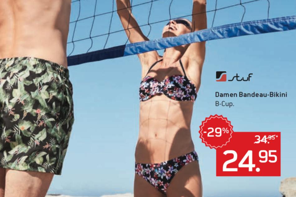 Dieser schöne Bikini ist 29 Prozent im Preis gesenkt.