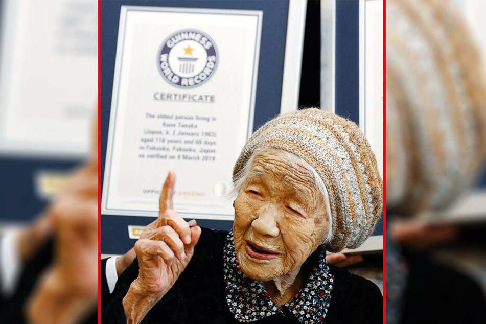 Kane Tanaka trägt derzeit den Titel als ältester Menschen der Welt.