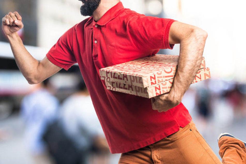 Wohin die Pizzaräuber geflohen sind, konnte der 20-Jährige nicht sehen. (Symbolbild)