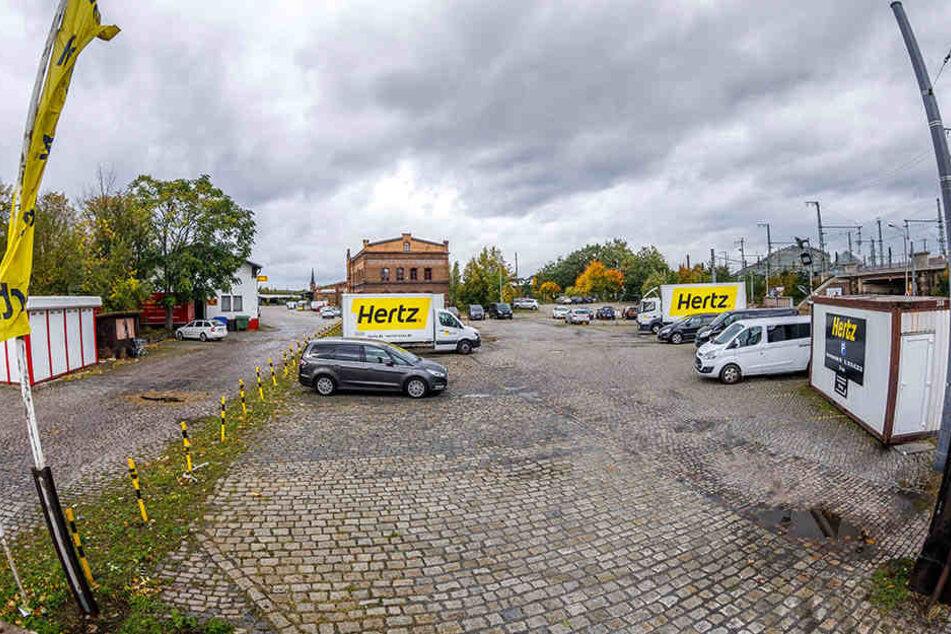 """Am Alten Leipziger Bahnhof will """"Globus"""" einen großen Einkaufsmarkt bauen. Dagegen erhebt sich Widerstand."""