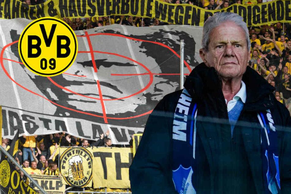 Nach erneuter Hopp-Anfeindung: BVB-Fans droht Auswärtsbann!