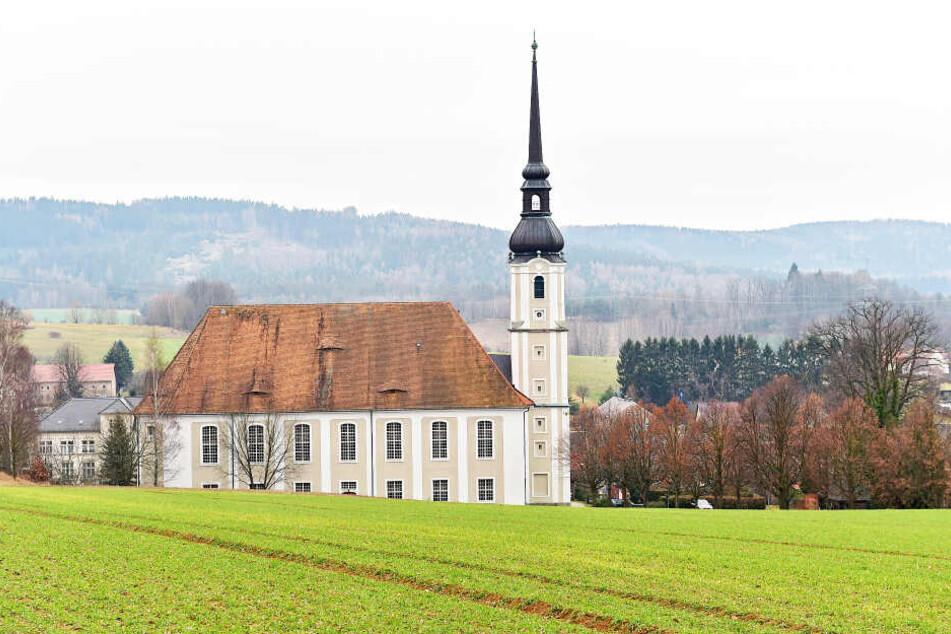 Deutschlands größte evangelische Dorfkirche in Cunewalde ist ein wichtiges Aushängeschild für die Region.
