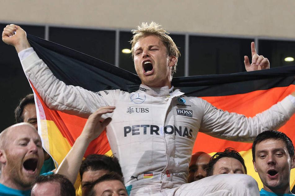 Rosberg bejubelte vor nicht einmal einer Woche den WM-Titel.