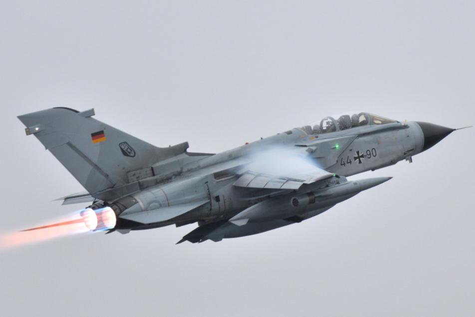 Ein Tornado-Jet der Bundeswehr. Damit werden vor allem Aufklärungsbilder von IS-Stellungen gemacht.