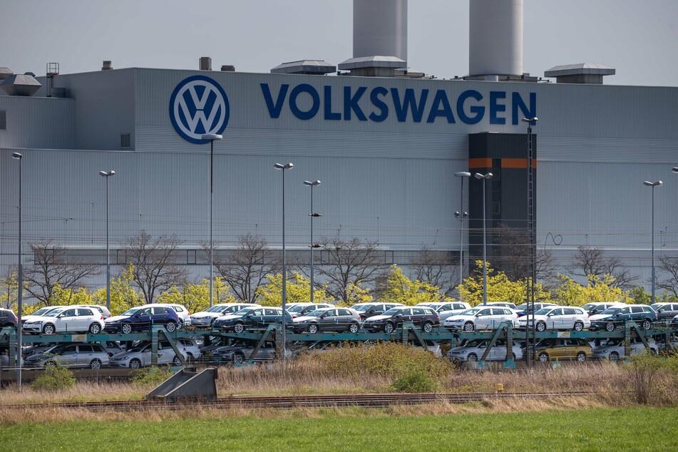 Das VW-Werk in Zwickau steht vorerst bis 19. April still.