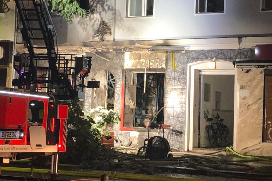Imbiss in Neukölln abgefackelt: Brandursache weiter unklar