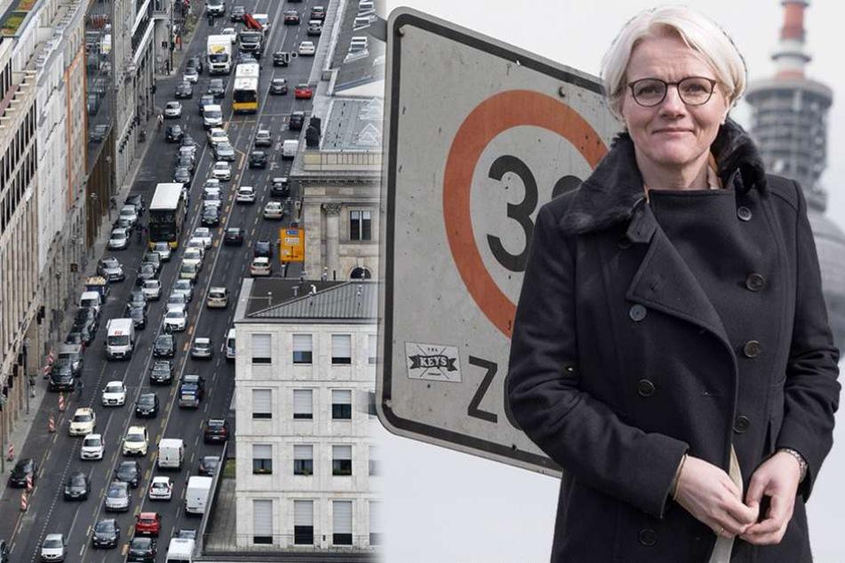 Regine Günther (56, parteilos) ist die Berliner Verkehrssenatorin.