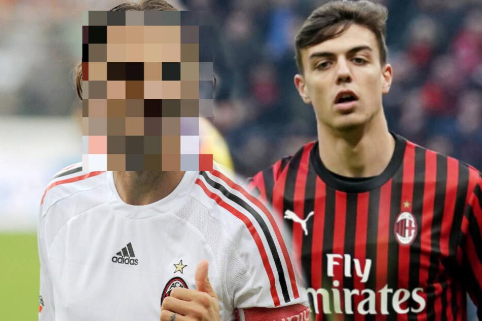 Sohn dieser Fußball-Legende gibt sein Debüt für den AC Mailand!