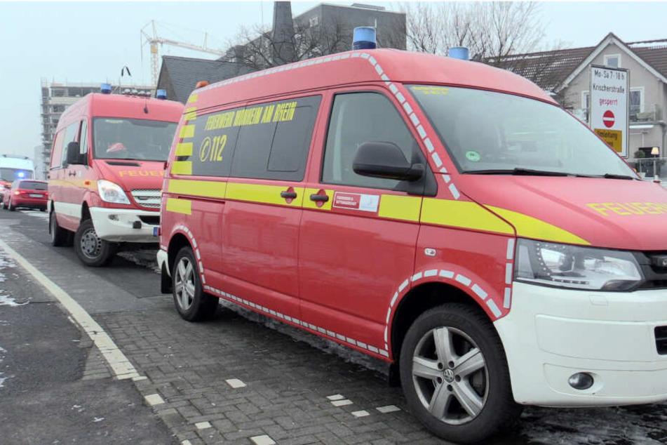 Die Feuerwehr Dormagen wurde am Freitagvormittag zu dem Wasserrettungs-Einsatz gerufen.