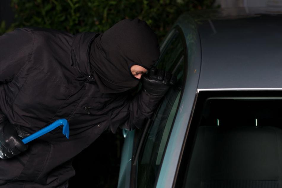 Nichts mit Abhauen: Autoknacker auf frischer Tat ertappt